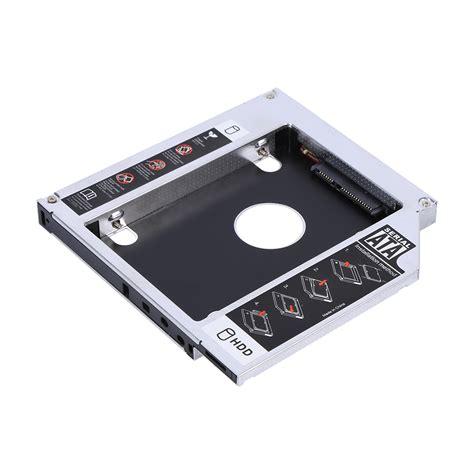 Hdd Caddy Laptop 12 7 Sata 12 7mm sata 2nd hdd ssd drive caddy for laptop cd dvd rom optical bay ebay