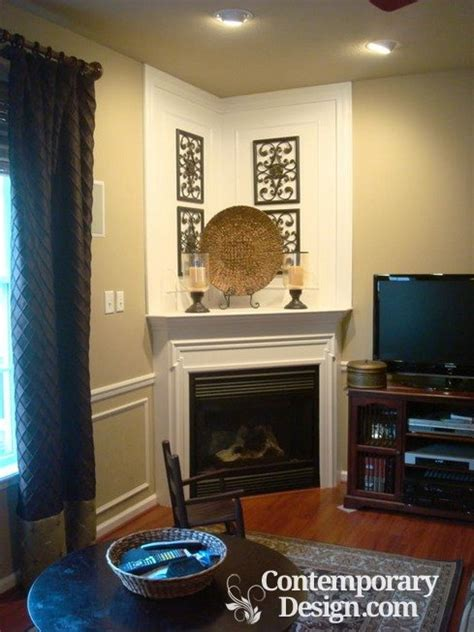 small living room with corner fireplace small living room with corner fireplace