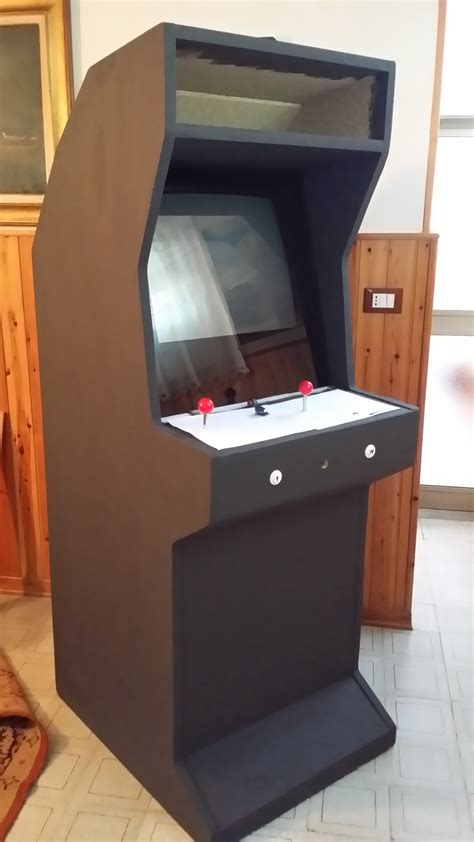 costruire cabinato arcade costruire un cabinato arcade di gstechnoblog
