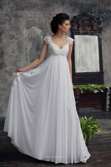 Empire Style Wedding Dresses by Empire Waist Wedding Dresses All Dress