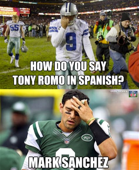Football Meme - top ten tony romo memes blacktopxchange