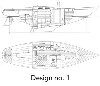 sections of a boat haag boats naval architect whangarei northland new