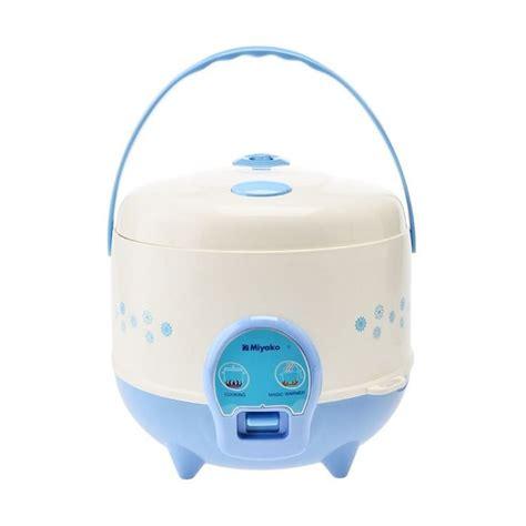 Daftar Rice Cooker 10 Kg jual miyako mcm 612 putih biru rice cooker harga