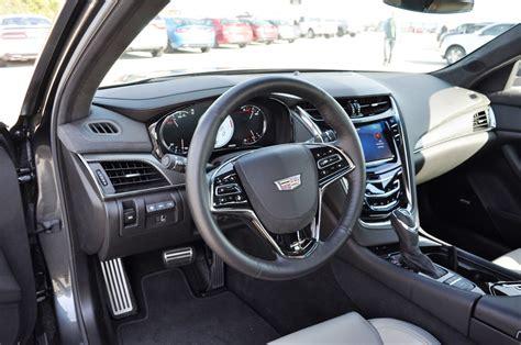 Cadillac Cts V Interior by 2016 Cadillac Cts V Review