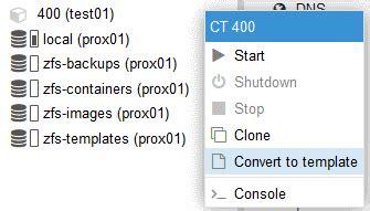 lxc templates proxmox 5 2 container template erstellen geekbundle org