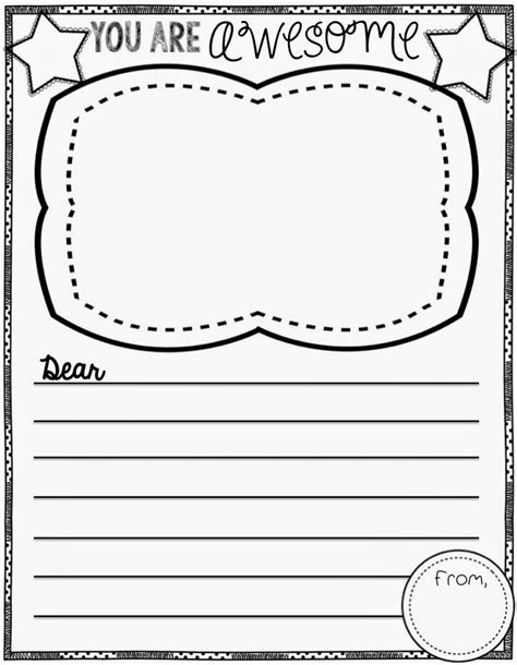Thank You Letter Template Kindergarten Thank You Letter Template For Elementary Students Search Results Calendar 2015