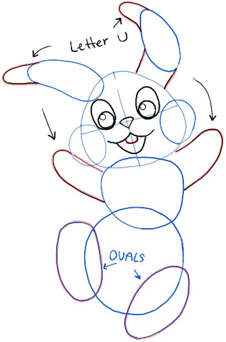 doodle draw easter bunny how to draw the easter bunny step by step drawing tutorial