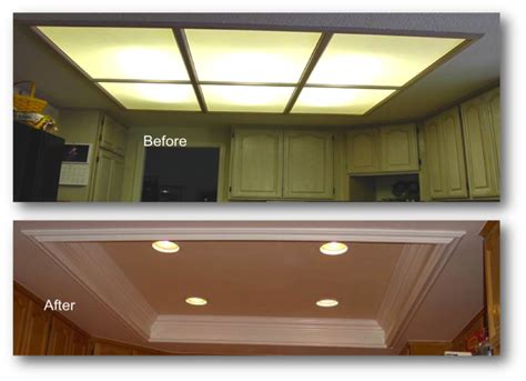 recessed kitchen lighting ideas kitchen coffered ceiling appleton renovations