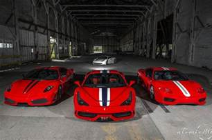 Challenge Stradale 458 Speciale 430 Scuderia And 360 Challenge
