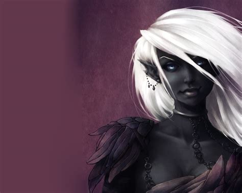 wallpaper dark elf black fairies black elf girl wallpaper from fantasy