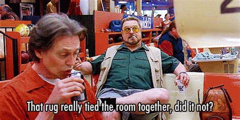Big Lebowski Rug Quote by The Big Lebowski Facts The Dude Would Abide By Thechive