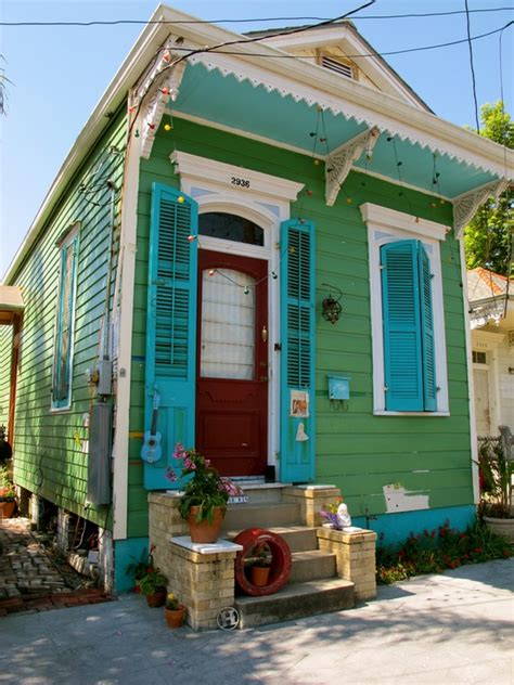 new orleans colorful houses tiny houses of the past a tiny scattered timeline