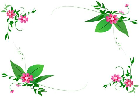 Flower Decoration In Home by Flower Border Vector Digital Dream Fx