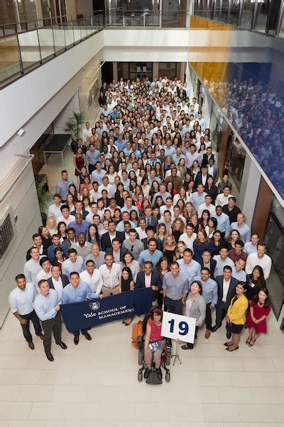 Yale Mba Ranking 2017 by Meet Yale Som S Mba Class Of 2019