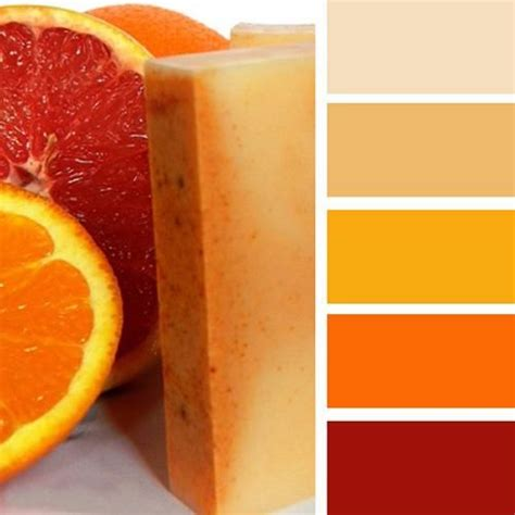 warm orange color 25 best ideas about orange color schemes on