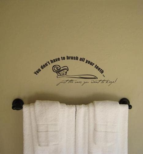 wall quotes bathroom bathroom wall quotes home pinterest