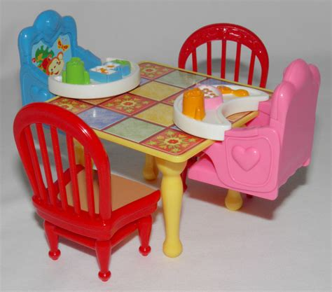 fisher price loving family dollhouse furniture table