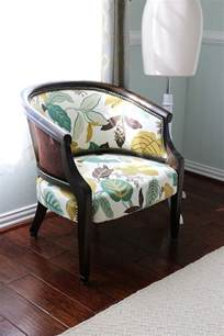 diy how to transform an upholstered chair