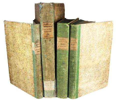 libreria antiquaria piemontese gazzetta piemontese giornale ufficiale regno asta