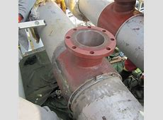Split tee welding – repair oil pipeline - steel flanges ... Zoom Cast