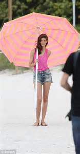 Zahra Umbrella model turned princess kendra shows slim legs in photo shoot daily mail
