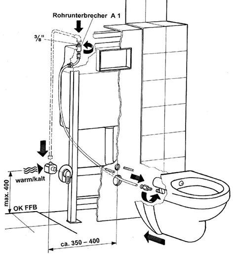 bidet montage wand dusch wc m edelstahl d 252 se toilette u bidet in einem