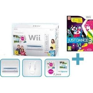 console wii family edition manette just achat vente manette just pas