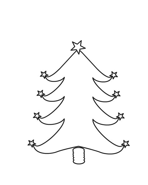 97 christmas tree clipart coloring page xmas tree