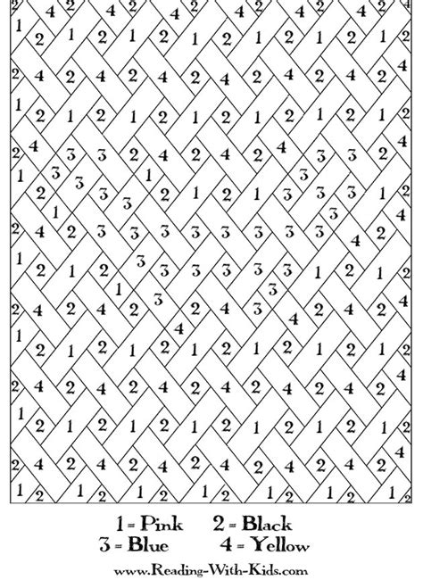 coloring pages by numbers or letters free coloring pages of color by number adult