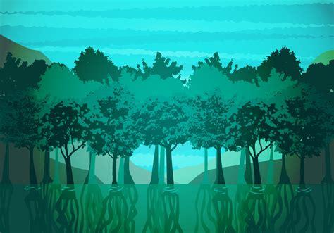 mangrove illustration vector   vectors