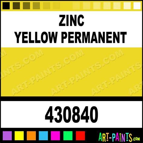 zinc yellow permanent artist paints 430840 zinc yellow permanent paint zinc yellow