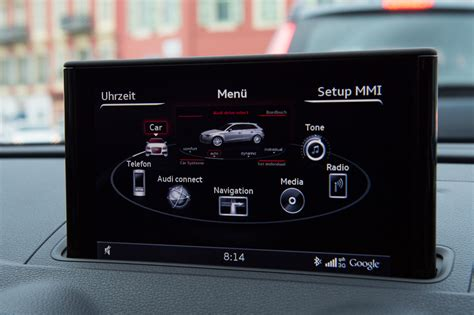 die neue audi mmi generation im 2013 audi a3 sportback 8v