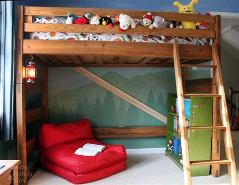 diy kids bed remodelaholic 15 amazing diy loft beds for kids