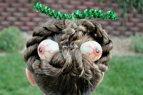 fun  creative halloween hairstyle ideas  kids