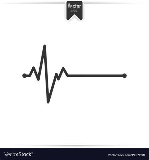 Electrocardiogram Ecg Medical Icon Royalty Free Vector Ancestry Stock Images Royalty Free Images Vectors