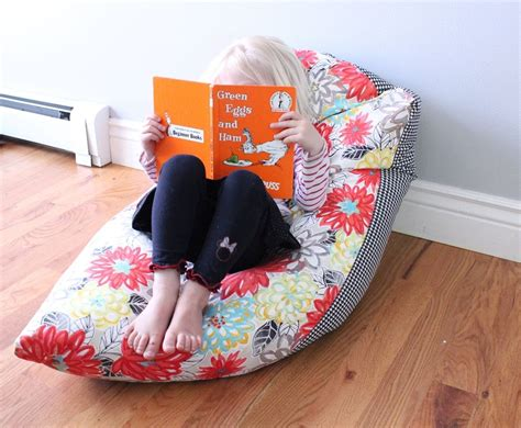 how to make a bean bag couch super simple diy kids bean bag chair a step by step tutorial