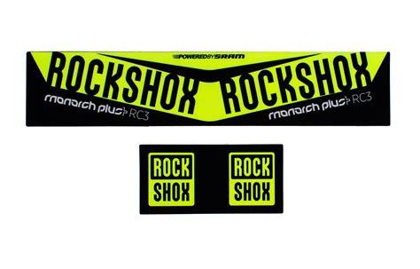 Rockshox Monarch Stickers by Commencal 2016 Rock Shox Monarch Plus Debonair Kit