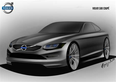 volvo s80 coupe by gogosketcher on deviantart