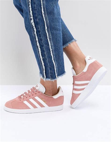 adidas originals adidas originals gazelle trainers in pink