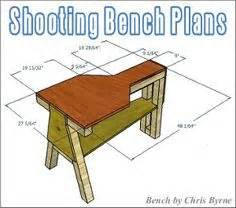plywood shooting bench shooting bench plans from one sheet of plywood google search things i can make