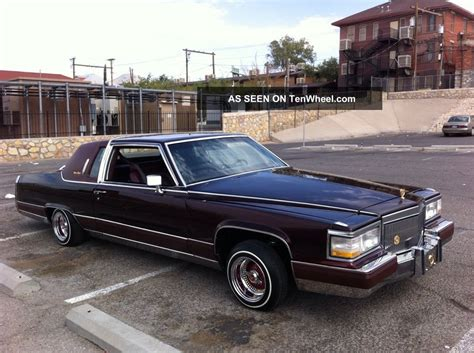 1984 cadillac fleetwood brougham 1984 cadillac fleetwood brougham coupe 2 door lowrider