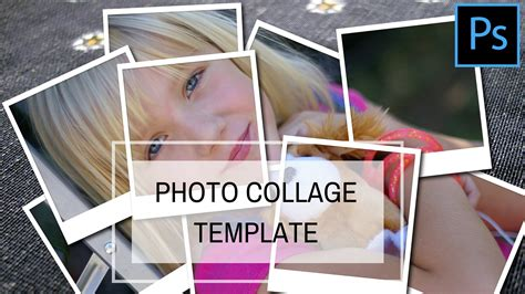 how to make a template in photoshop create a photo collage template in photoshop
