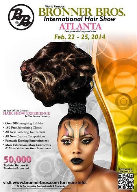 braun brothers hair show alanta ga hey ladies anyone going to the bronner brothers hair show