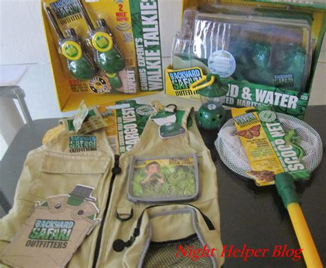 backyard safari its a fun backyard safari outfitters giveaway just for your little one