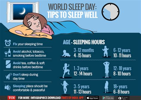 How To A Better Healthy Sleep by Infographic How To Sleep Better Times Of India