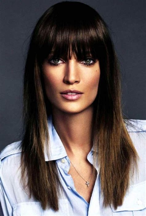 blunt fringe hairstyles 17 best ideas about blunt bangs on pinterest short hair