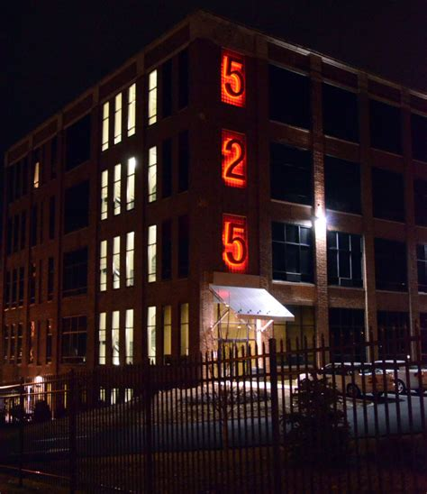 Appartment Number by 525 Apartments L H Sign Company Philadelphia Pa