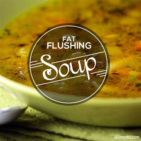Ms Detox Soup by Flush The Away Vegetable Soup Recipe Positive