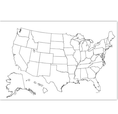 usa map plain coloring map usa coloring page usa outline plain no