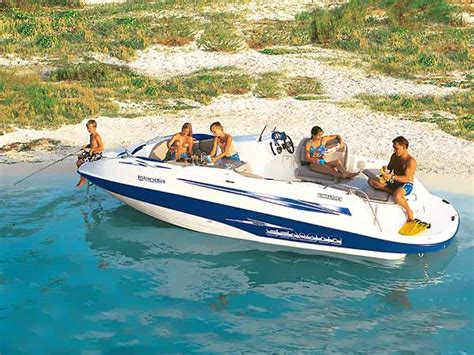 2002 bombardier sea doo jet boat sea doo islandia jet powered deckboat boats